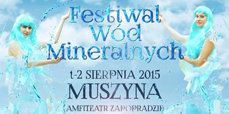 Festiwal Wód Mineralnych wMuszynie