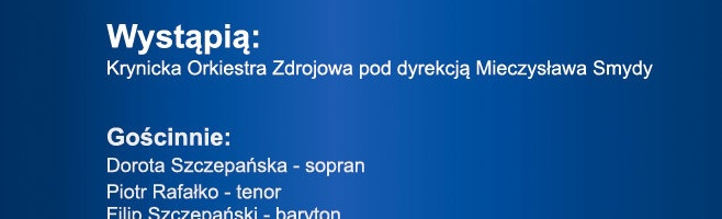 Krynicka Orkiestra Zdrojowa - jubileusz