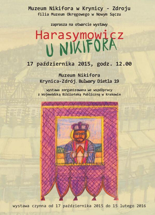 Harasymowicz uNikifora-wystawa