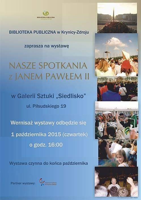 Jan Paweł II - wernisaż wystawy