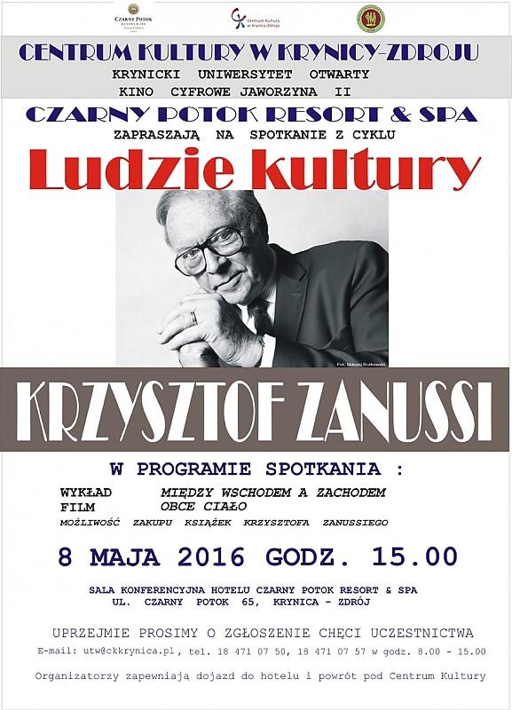 Krzysztof Zanussi wKrynicy!