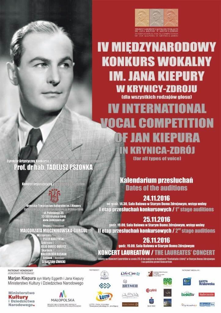 Międzynarodowy Konkurs Wokalny im.Jana Kiepury