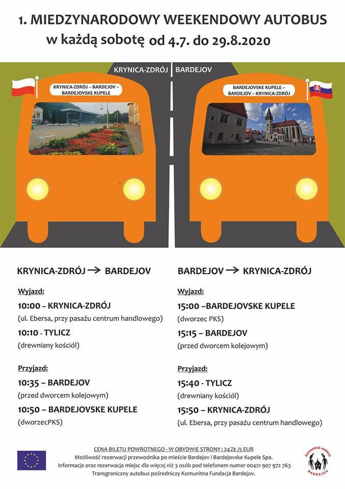 bus-krynica-bardejov-2020
